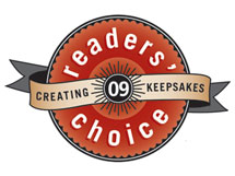 2009 Creating Keepsakes Readers' Choice Award Logo