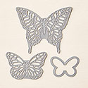 Butterflies Thinlits Dies by Stampin' Up!