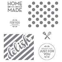 Homemade For You Wood-Mount Stamp Set by Stampin' Up!