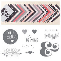 You Plus Me Wood Bundle by Stampin' Up!