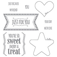 You're So Sweet Clear-Mount Stamp Set by Stampin' Up!