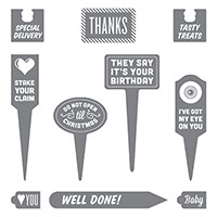 Stake Your Claim Clear-Mount Stamp Set by Stampin' Up!