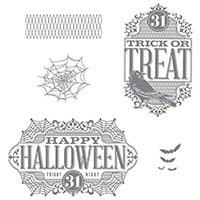 Witches' Night Photopolymer Stamp Set by Stampin' Up!