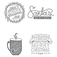 Cup of Cheer Wood-Mount Stamp Set by Stampin' Up!