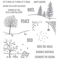 Happy Scenes Photopolymer Stamp Set by Stampin' Up!