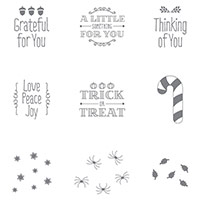 A Little Something Clear-Mount Stamp Set by Stampin' Up!