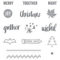 Project Life Seasonal Snapshot 2015 Photopolymer Stamp Set by Stampin' Up!