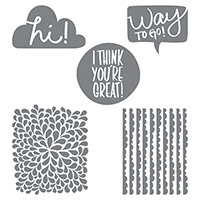 I Think You're Great Clear-Mount Stamp Set by Stampin' Up!