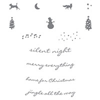 Jingle All the Way Wood-Mount Stamp Set by Stampin' Up!