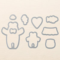 Bear Hugs Framelits Dies by Stampin' Up!