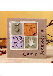Camp Memories Autograph Book image