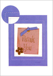 A Friendly Thank You card image