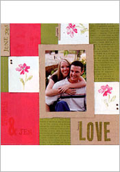 Love watercolor page image