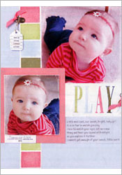Play Scrapbook Page image
