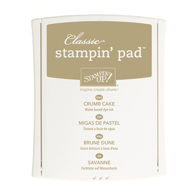 126975 - Neutrals Collection Crumb Cake Stamp Pad