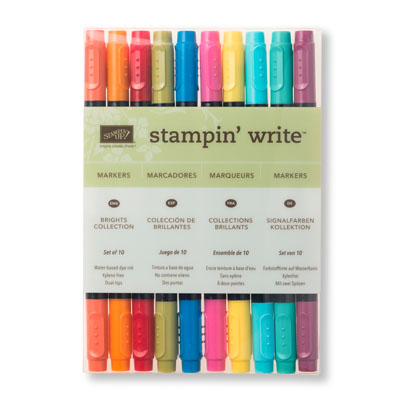 Brights Stampin' Write Markers