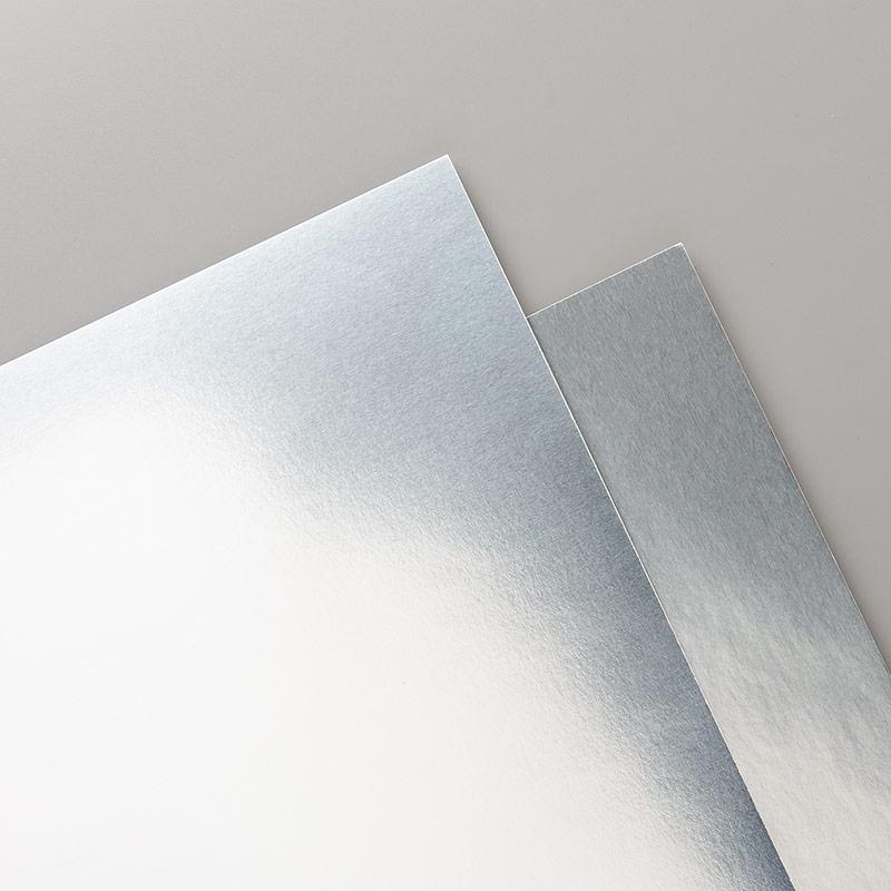 132178 - Foil Sheets Silver Cardstock