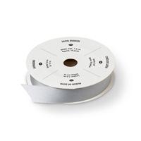 Silver 5/8 (1.6 cm) Satin Ribbon