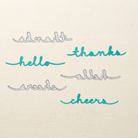Greetings Thinlits Dies by Stampin' Up!
