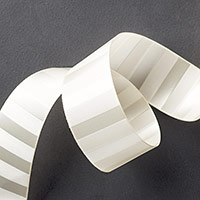 Very Vanilla 1-1/4 (3.2 cm) Subtle Stripes Satin Ribbon by Stampin' Up!