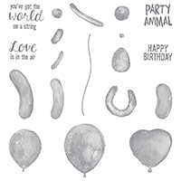 Balloon Builders Photopolymer Stamp Set