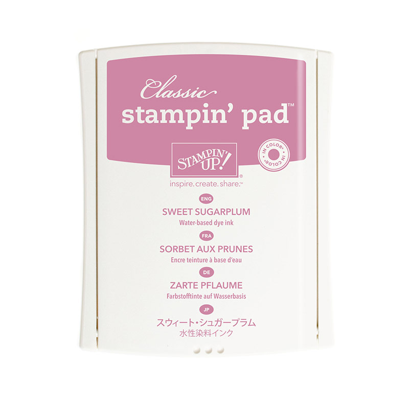 141395 - 2016-2018 In Color Classic Sweet Sugarplum Stamp Pad