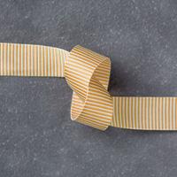 Delightful Dijon 5/8 (1.6 cm) Mini Striped Ribbon