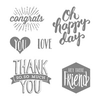 Scenic Sayings Clear-Mount Stamp Set