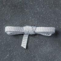 Smoky Slate  1/8 (3.2 mm) Stitched Ribbon