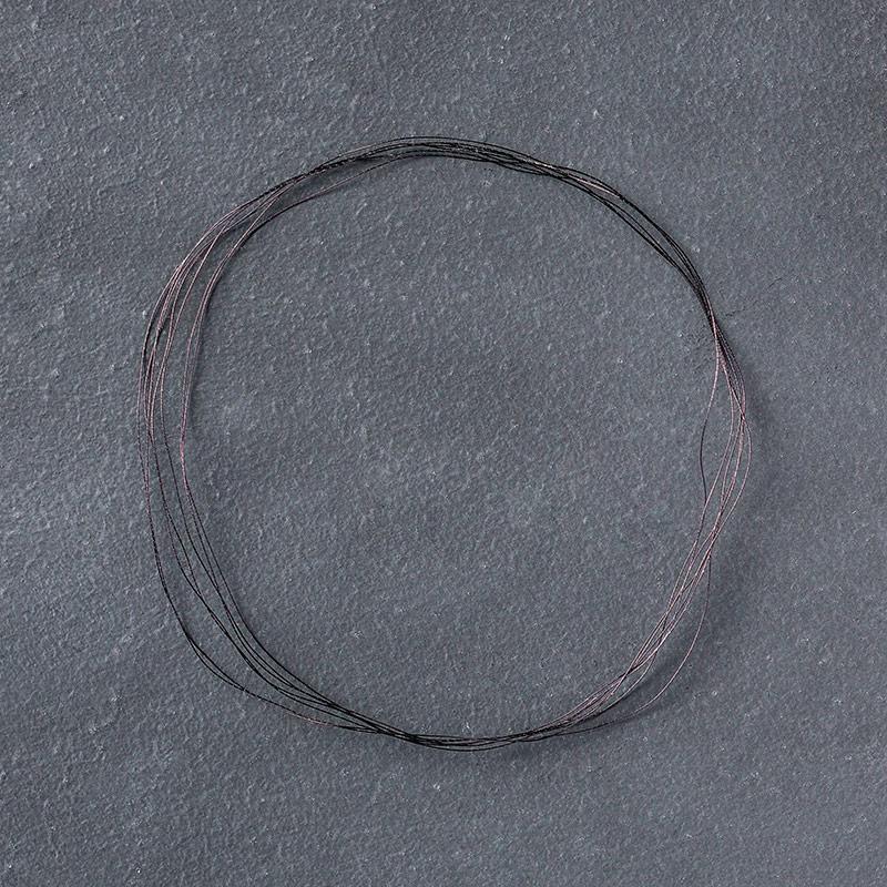 Basic Black Metallic Thread