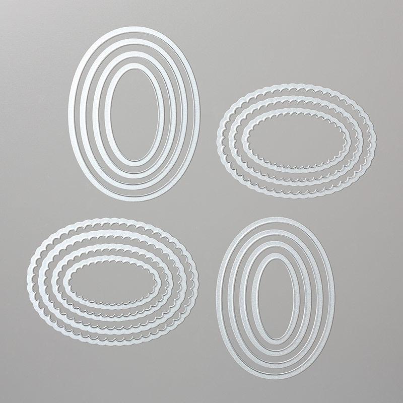 141706 - Layering Ovals Framelits Dies