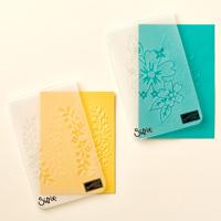 Floral Affection Textured Impressions Embossing Folder