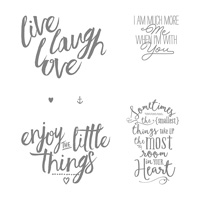 Layering Love Clear-Mount Stamp Set