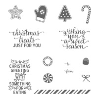 Candy Cane Christmas Clear-Mount Stamp Set