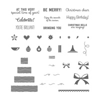 Shake & Celebrate Photopolymer Stamp Set