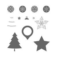 Festive Season Photopolymer Stamp Set