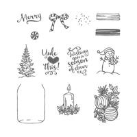 Jar of Cheer Photopolymer Stamp Set
