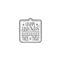 Halloween Treat Wood-Mount Stamp Set