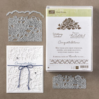 Floral Phrases Clear-Mount Bundle
