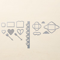 Love Notes Framelits Dies