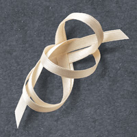 Very Vanilla 1/4 (6.4 mm) Satin Ribbon