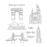 Chase Your Dreams Clear-Mount Stamp Set