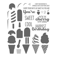 Cool Treats Photopolymer Stamp Set