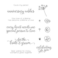 Falling for You Clear-Mount Stamp Set