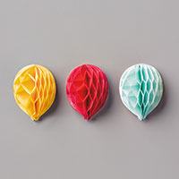 Balloon Honeycomb Embellishments