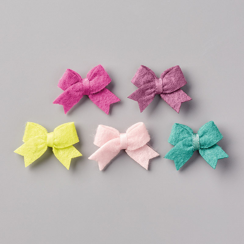 144217 - 2017-2019 In Color Bitty Bows Embellishments
