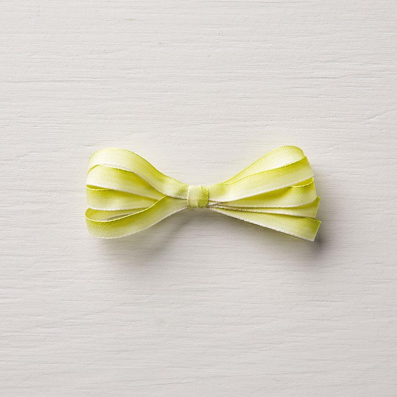 """Lemon Lime Twist 1/4"""" Ombre Ribbon"""