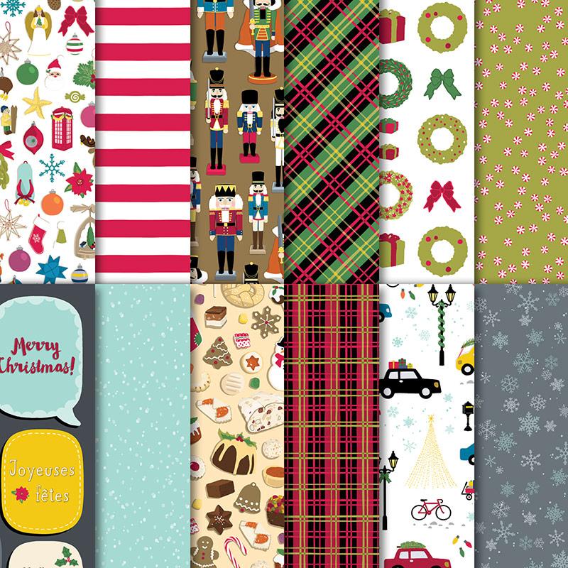 144629 - Christmas Around The World Designer Series Paper