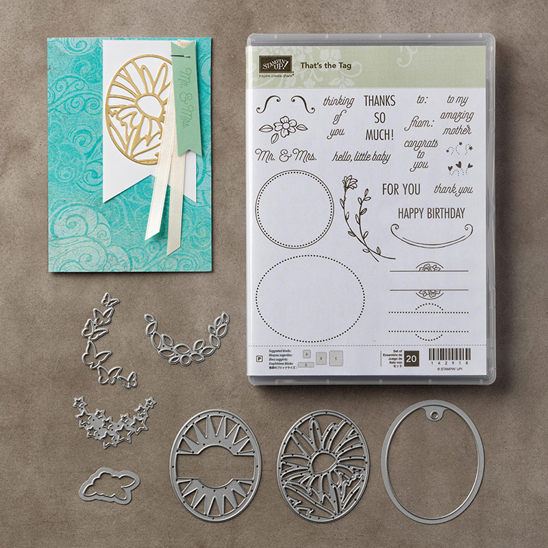 That's the Tag Bundle - Leonie Schroder Independent Stampin' Up! Demonstrator Australia