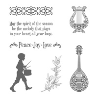 Musical Season Clear-Mount Stamp Set